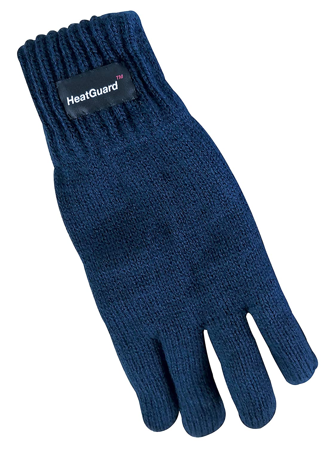 Boys Kids Thinsulate 3M 40 gram Thermal Insulated Winter Knit Outdoor Thin Gloves (10-11 Years, Black)