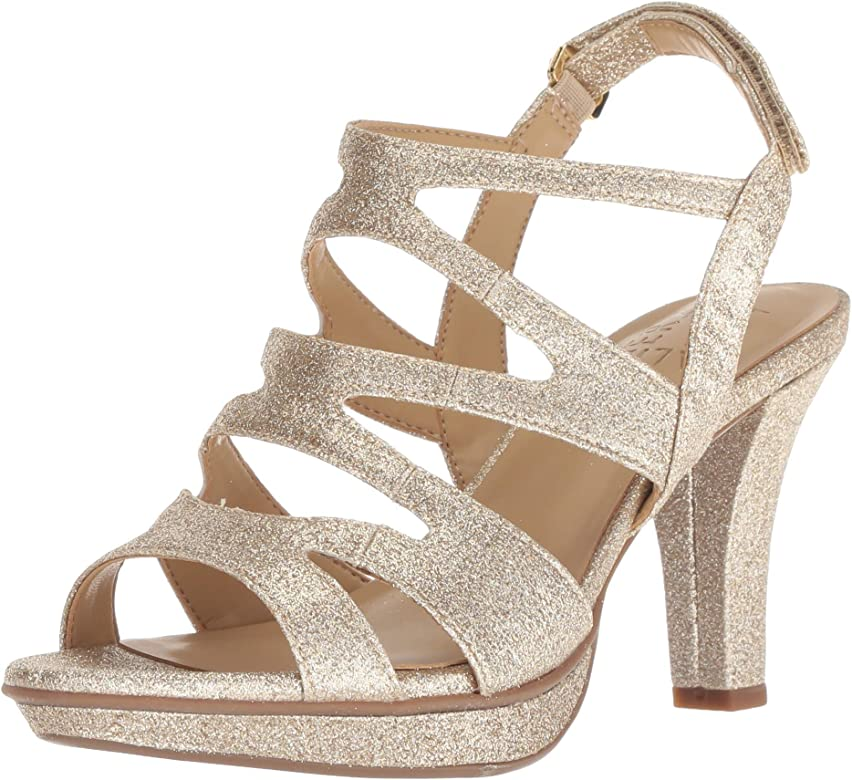 Gold Glitter, Gold, Size 9.5: Amazon.ca