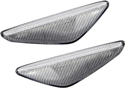 2x LED LUCES INTERMITENTES DINAMICOS LATERALES LENTE AHUMADA REEMPLAZO E70 X5 E71 E72 X6 F25 X3 E4 MOT T/ÜV ITV
