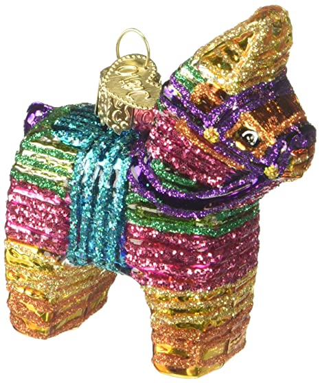 new style 46489 d3d4c Old World Christmas Ornaments: Pinata Glass Blown Ornaments for Christmas  Tree