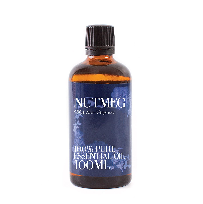 Nuez Moscada Aceite Esencial - 100ml - 100% Puro Mystic Moments EONUTM100