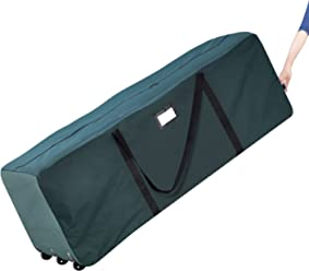 Elf Stor Rolling Duffle Christmas Tree Storage Bag - Green b48097e06bb1c