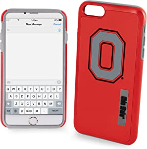 "Ohio State Buckeyes Impact TPU 2-Piece Dual Hybrid iPhone 8 PLUS / iPhone 7 PLUS / iPhone 6 PLUS / 6s PLUS - 5.5"" Screen ONLY"