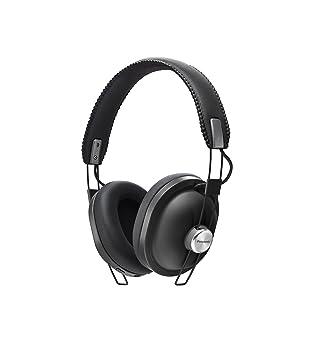 PANASONIC RP-HTX80BE-K Bluetooth Wireless Over-Ear Headphones - Black c26ba957e1c6