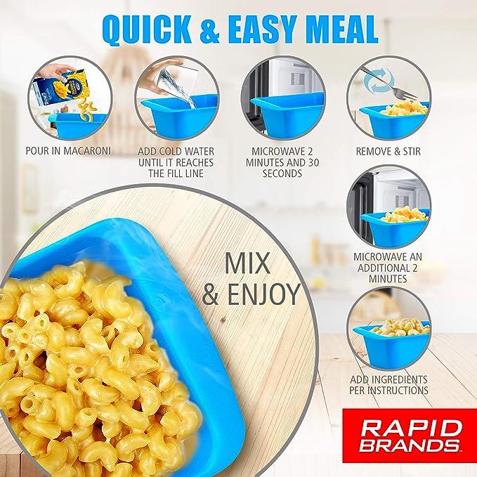 Amazon.com: Rapid Mac Cooker - Macarrones y queso en caja de ...