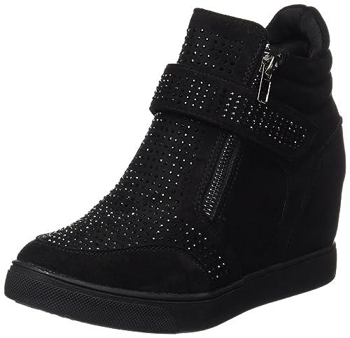 1fd29acb XTI 047440, Botines para Mujer, Negro (Black), 41 EU: Amazon.es: Zapatos y  complementos