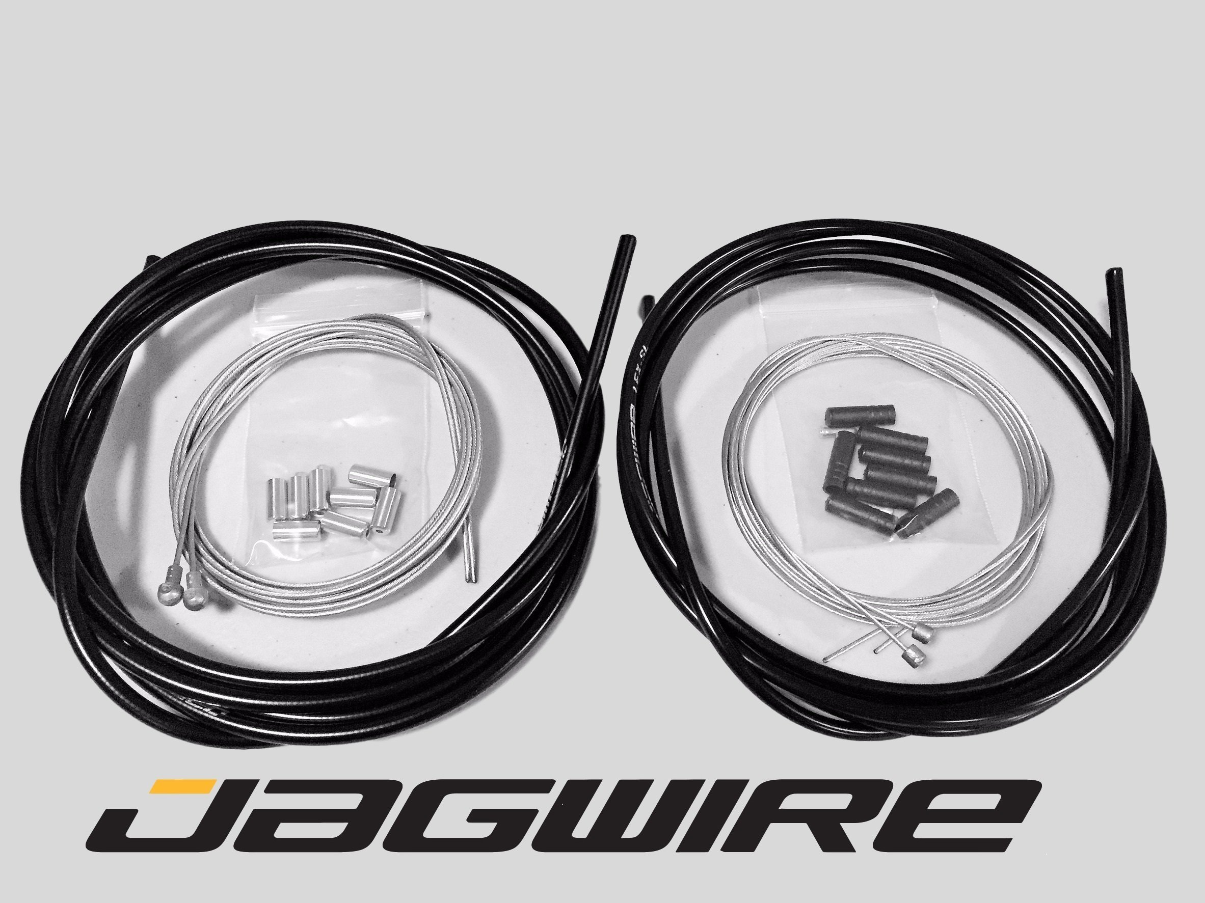 JAGWIRE ROAD SHOP KIT - Complete Brake & Shifter Cable and Housing Kit- Black - SRAM/Shimano by Jagwire (Image #1)