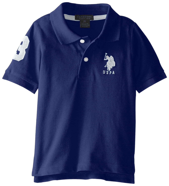 Amazon Us Polo Assn Boys Short Sleeve Solid Pique Polo