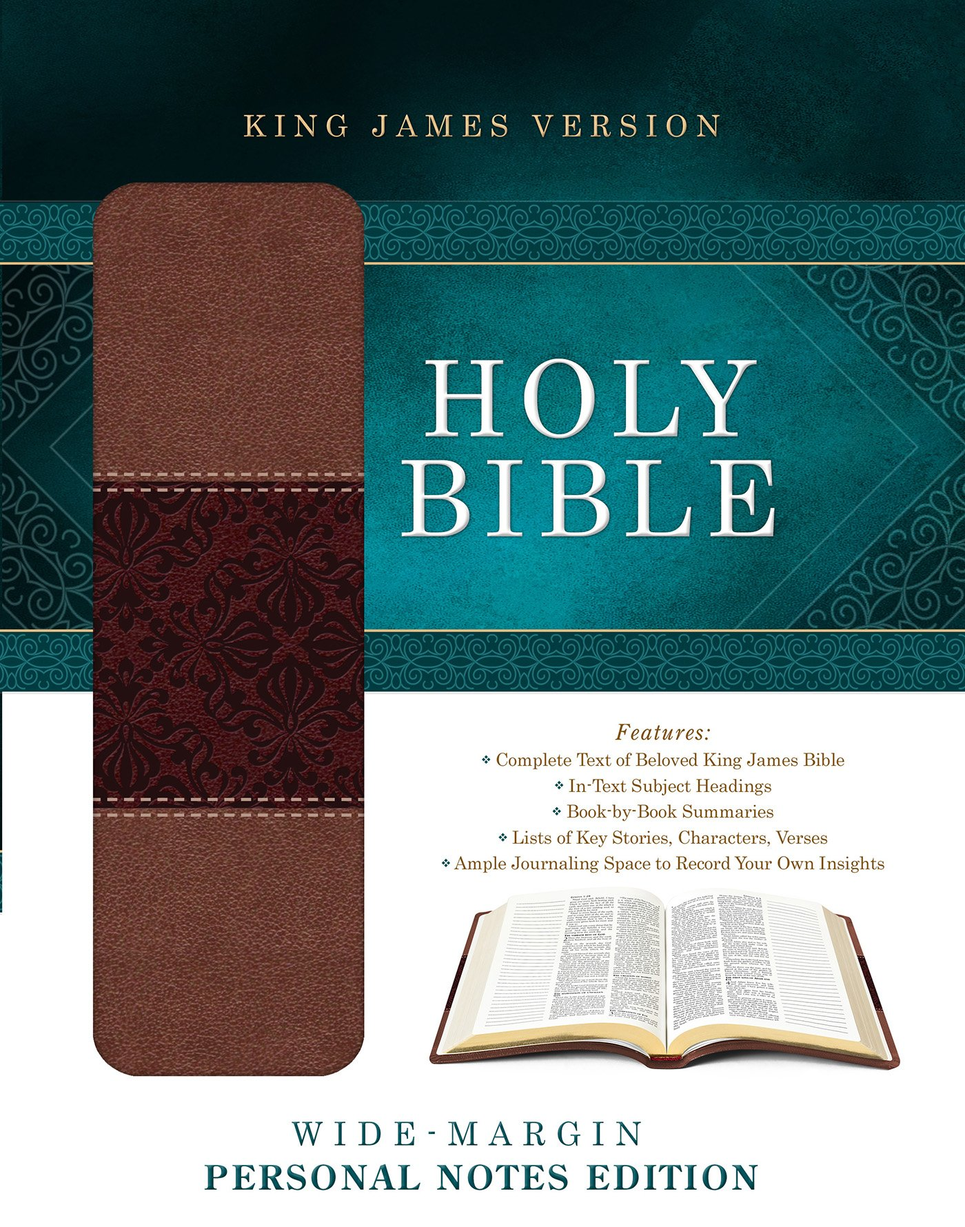 Holy Bible: Wide-Margin Personal Notes Edition: King James