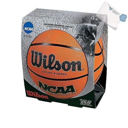 FEBOT - Balón de Baloncesto de Caucho Wilson NCAA (Incluye Notas ...