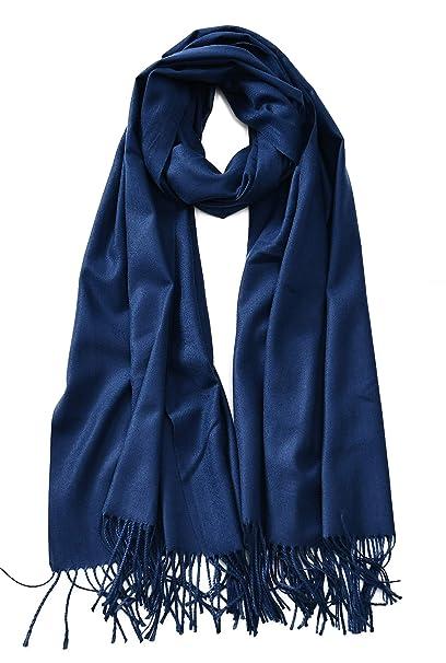 Soft Silk Shawl Wrap Women Pashmina Solid Scarf Stole Cashmere Wool Ladies Scarf