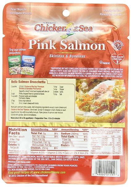 Amazon Chicken Of The Sea Premium Skinless Boneless Pink