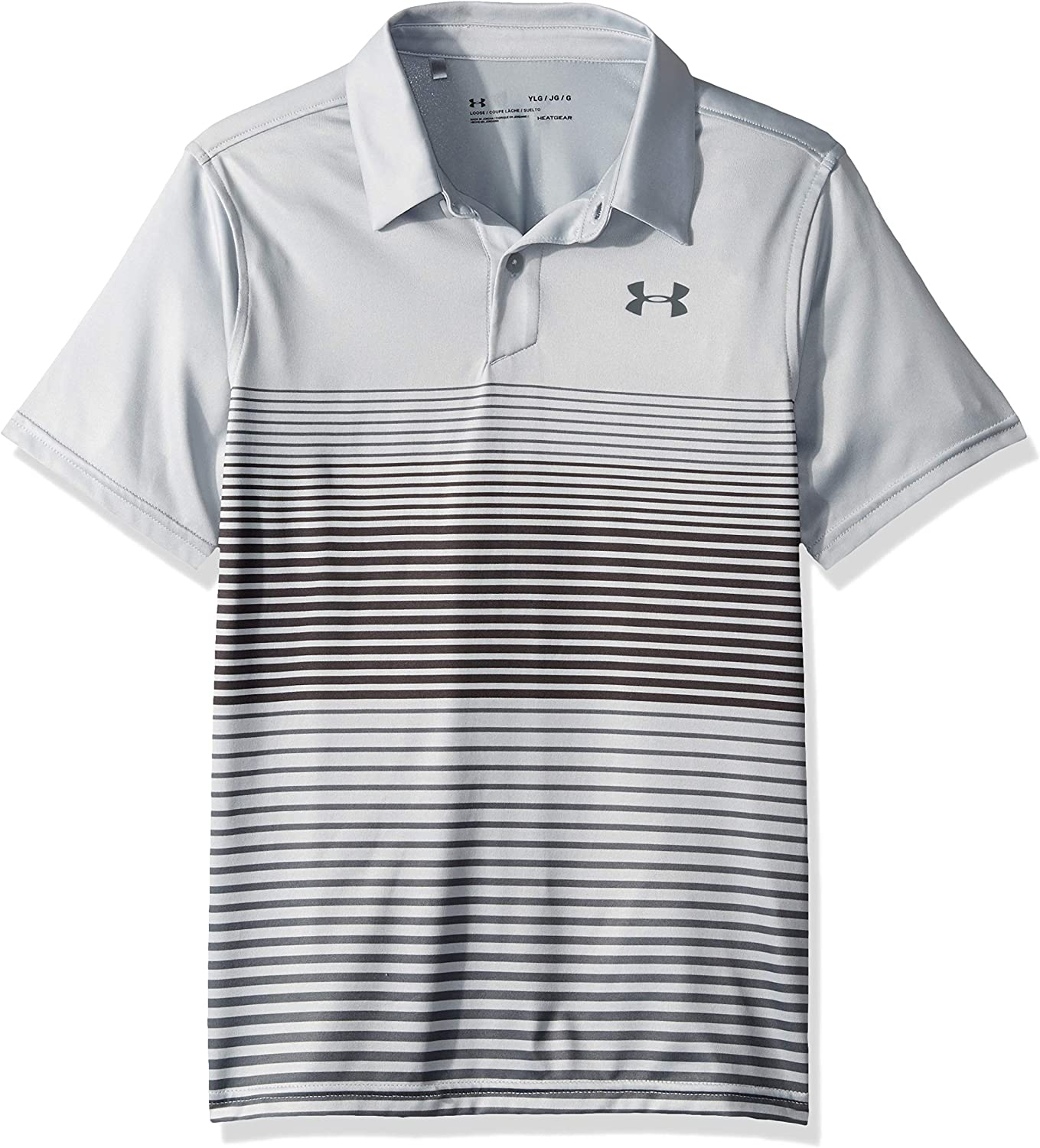 Under Armour Jordan Spieth 2nd Major Saturday Polo, Mod Gray (011 ...