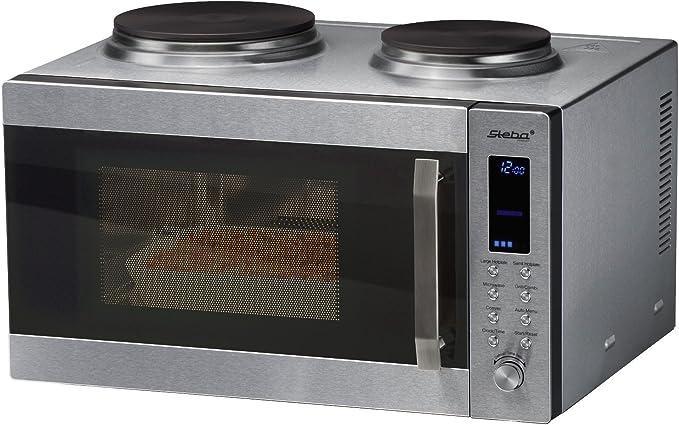 Steba Kb 52 Cuisine Compacte Avec Micro Ondes Four Grill Plaques