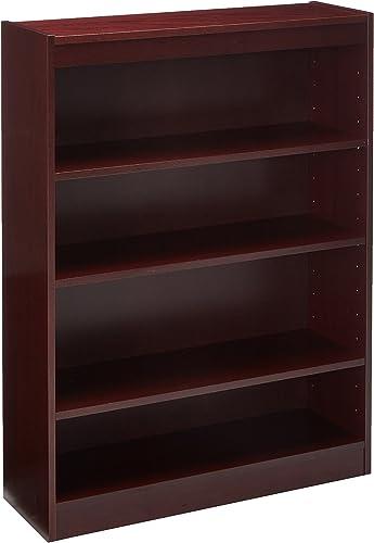 Cheap Lorell 4-Shelf Panel Bookcase modern bookcase for sale