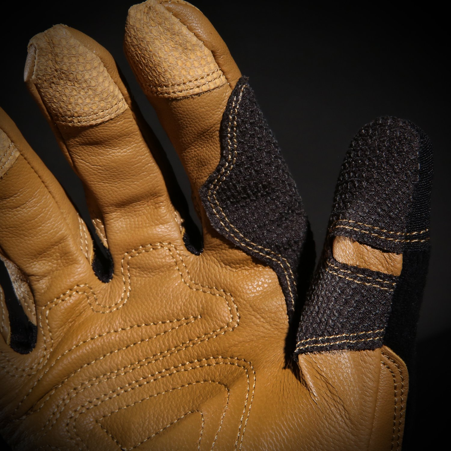 Ironclad Ranchworx Work Gloves RWG2, Premier Leather Work Glove, Performance Fit, Durable, Machine Washable, Sized S, M, L, XL, XXL, XXXL (1 Pair) by Ironclad (Image #8)