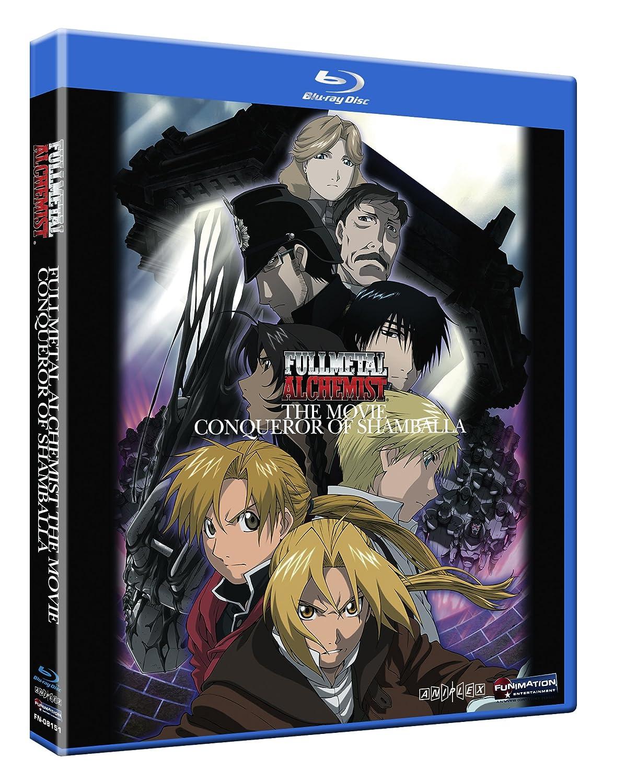 Amazon.com: Fullmetal Alchemist the Movie: Conqueror of Shamballa Blu-ray: Romi Pak, Rie ...