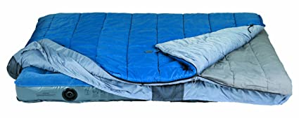 Kelty Satellite 30° - Saco de Dormir Rectangular para Acampada, Color Azul