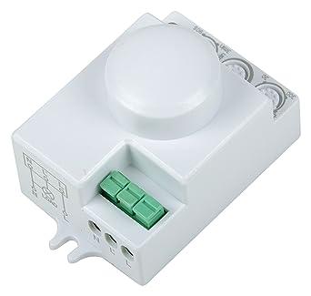 Sensinova Microwave Motion Sensor/ HF Radar Sensor, White