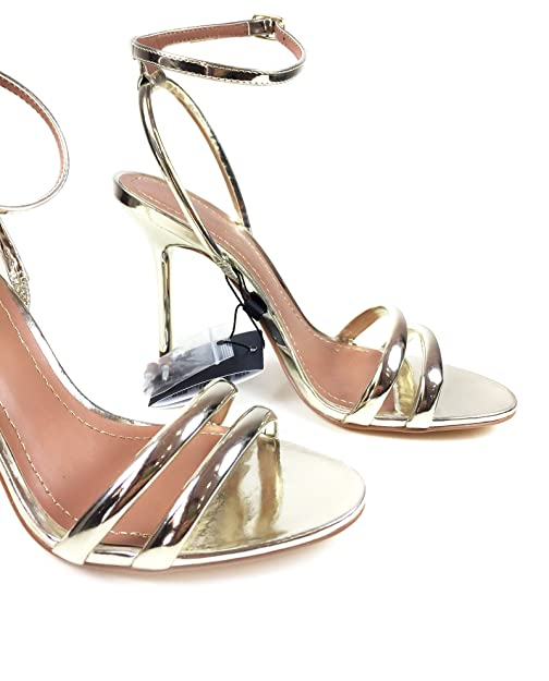 72851131 Zara - Sandalias de Vestir para Mujer Dorado Dorado Dorado Size: 39:  Amazon.es: Zapatos y complementos