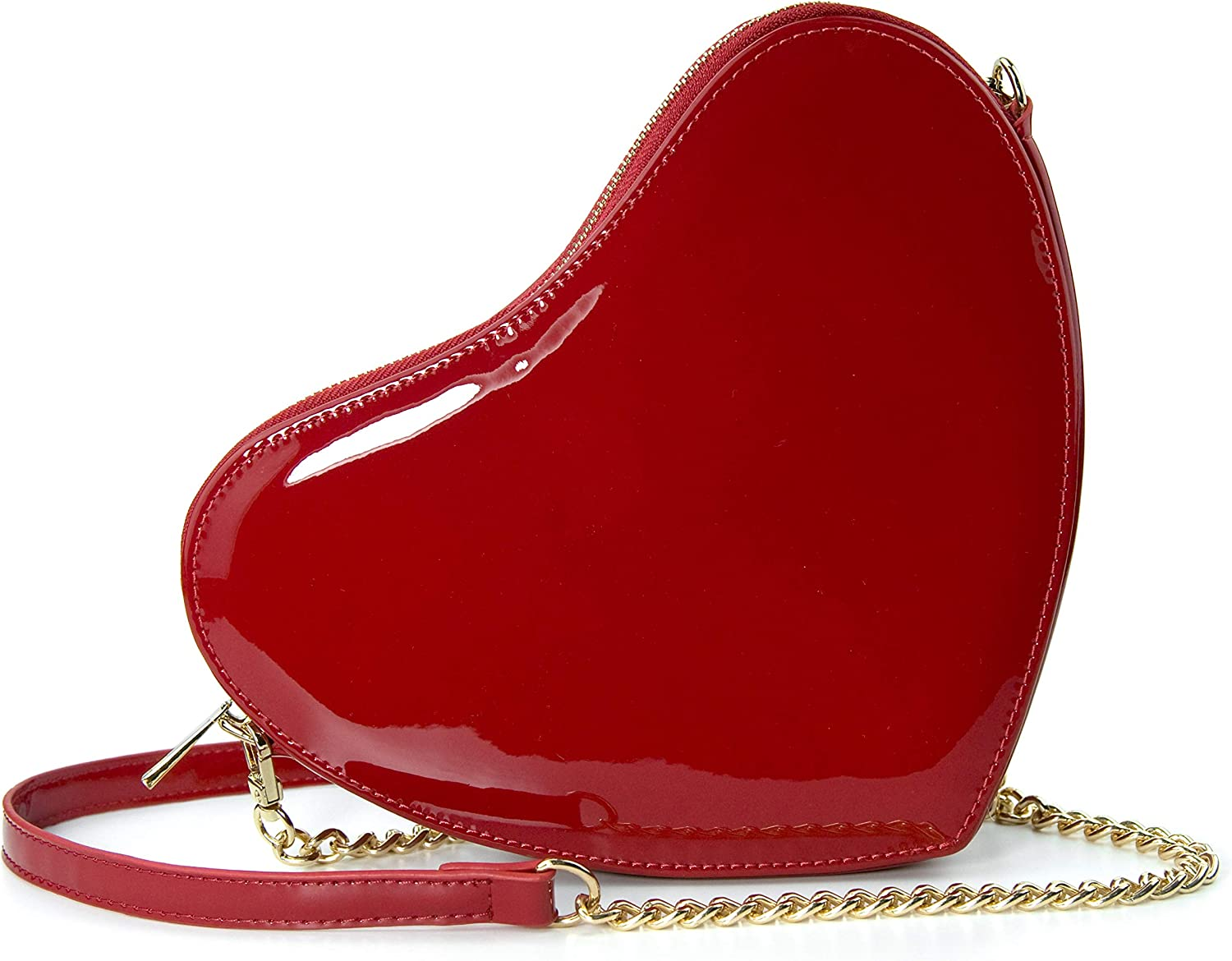 Heart Chain Shoulder Bag...