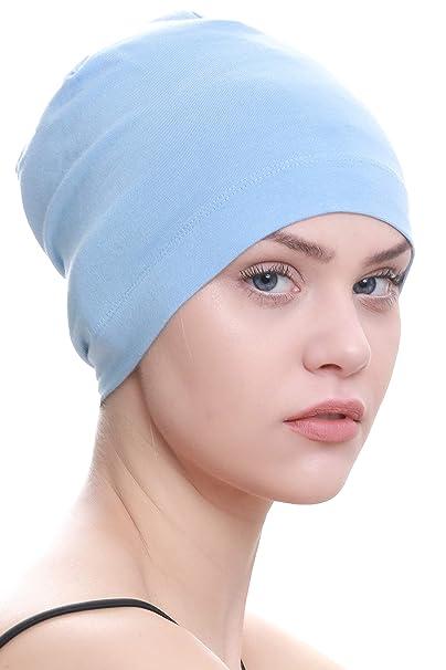 Deresina Gorros para Dormir Oncológicos y para Quimioterapia (Azul (Sky  Blue))  Amazon.es  Ropa y accesorios 3dc8a665cc5