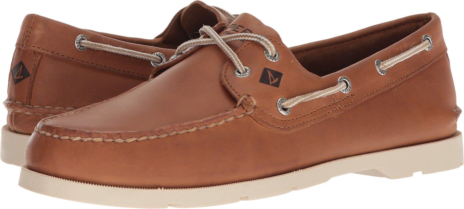 Sperry Men's, Leeward Boat Shoe TAN 10.5 M