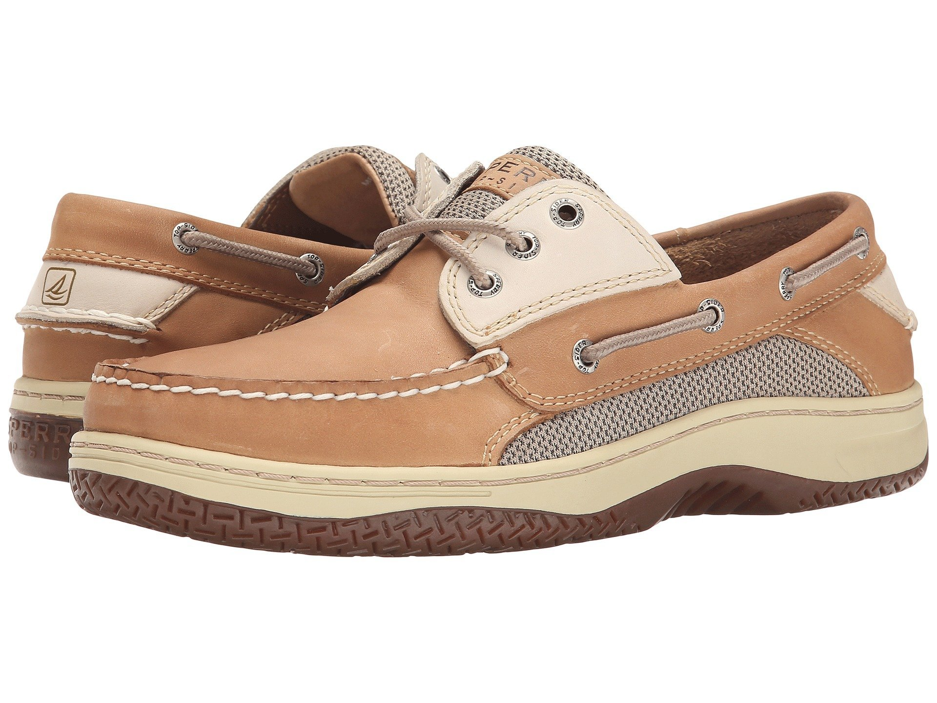 Sperry Top-Sider Men's Billfish 3-Eye Boat Shoe Tan Beige