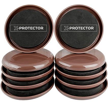 Bon Furniture Sliders For Carpet X PROTECTOR U2013 Best 8 Pack 4 3/4