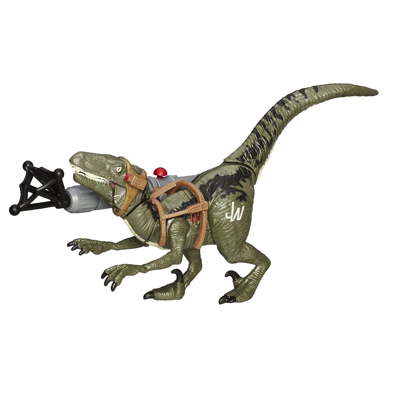 Jurassic World Bashers Biters Velociraptor Blue Figure Mainan Dinosaurus Dino Toys Games