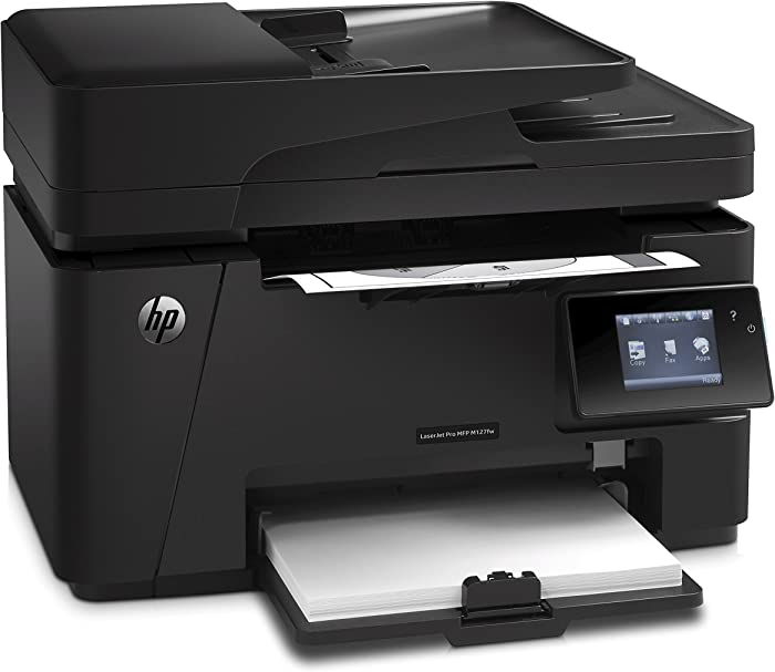 HP Laserjet Pro M127fw Wireless All-in-One Monochrome Printer, (CZ183A)