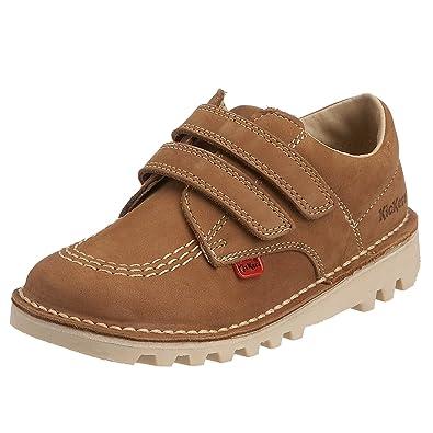 d9b06fcb Kickers Kick Lo Vel Boys' School Shoes: Amazon.co.uk: Shoes & Bags