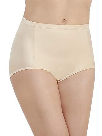 0f71830cf760 Vanity Fair Women's Smoothing Comfort Brief Panty 13261, Damask Neutral,  Medium/6