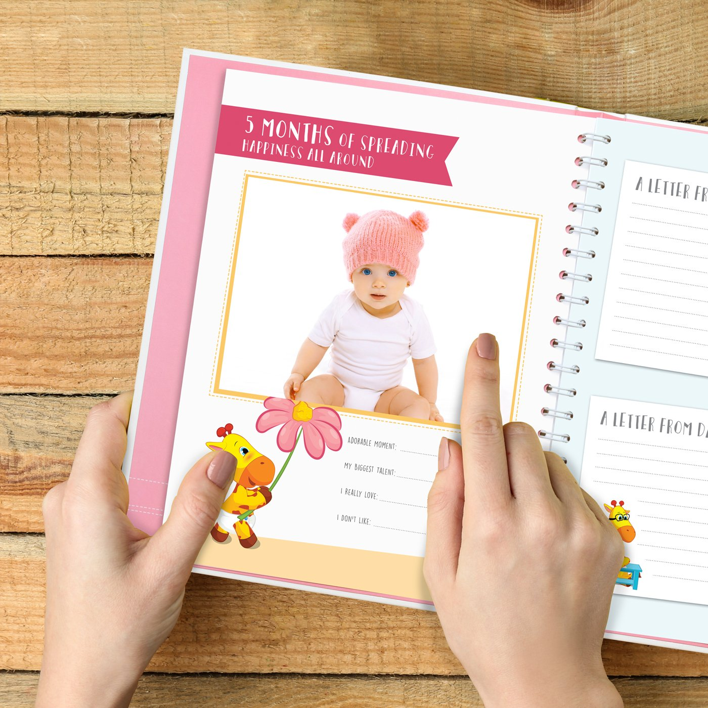 Amazon Limited Promo The Amazing Baby Memory Book by