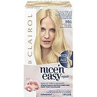 Clairol Nice'n Easy Repair Permanent Hair Colour, SB1 Ultra Light Natural Beach Blonde, Pack of 1