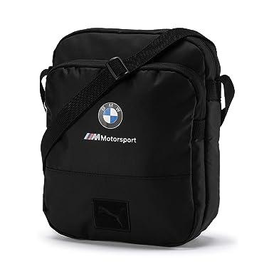 83031f521592e PUMA BMW M Motorsport Große Schultertasche Puma Black OSFA  Amazon ...