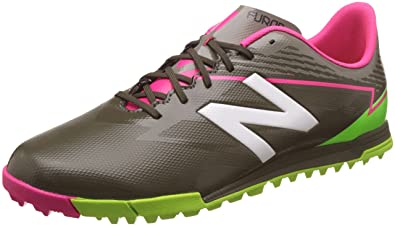 d7d63b6277f3 new balance Men's Furon 3.0 Dispatch TF Military Green and Alpha Pink Football  Boots - 10