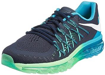 629dbd9459 Amazon.com | Nike Air Max 2015 Men US 8.5 Black Running Shoe | Road ...