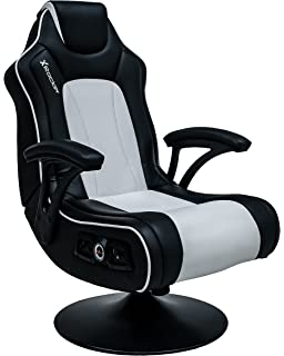 X Rocker Torque Faux Leather Black White 815 665 105