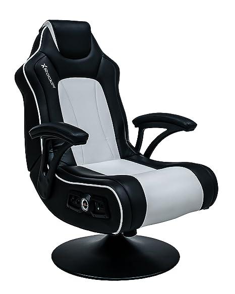 X Rocker Torque 2.1 Podest Stuhl - Schwarz und weiß [ ]