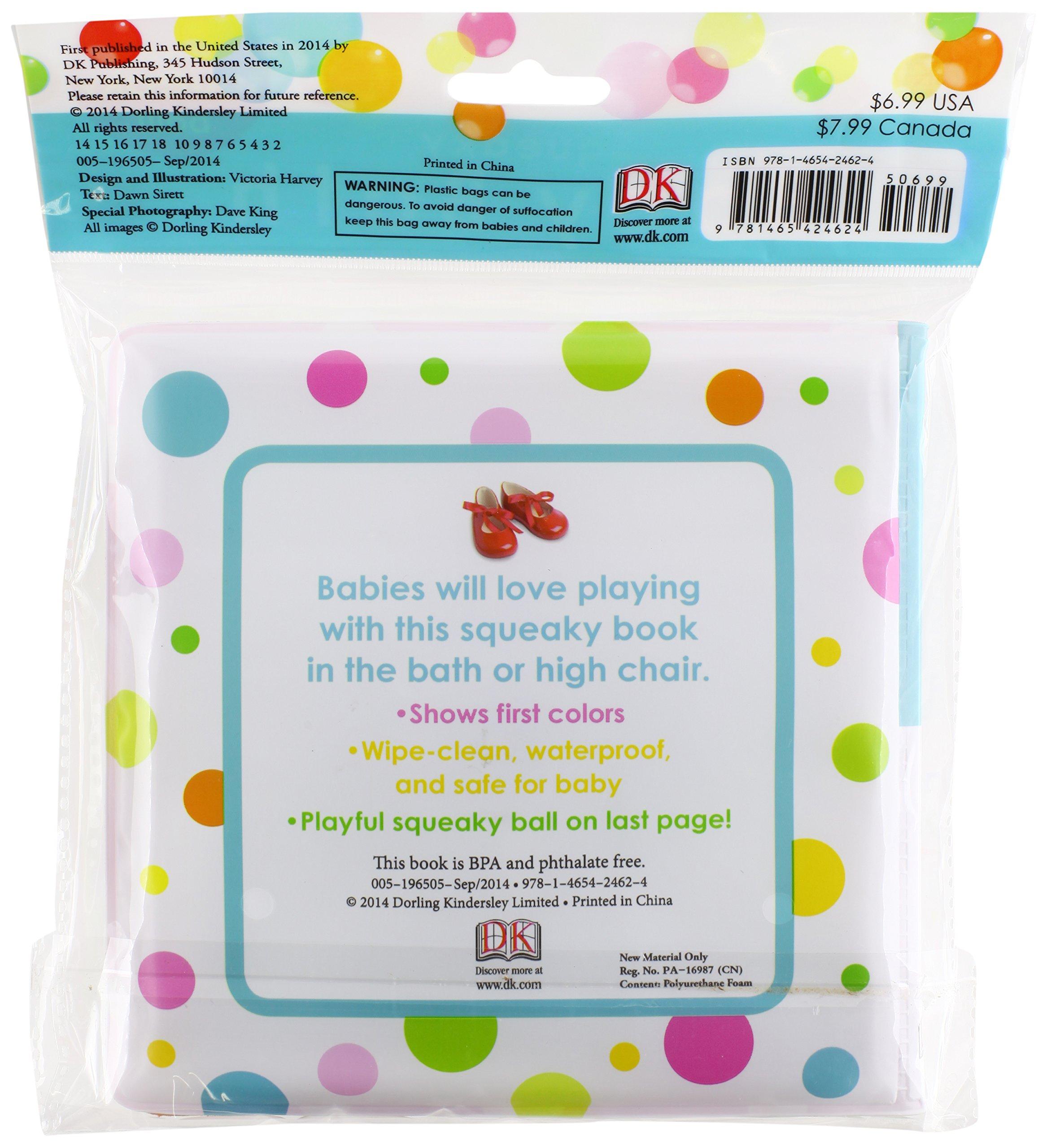 Squeaky Baby Bath: Colors: DK: 9781465424624: Amazon.com: Books