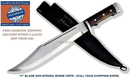 Amazon.com: Auténtico Gurkha – Cuchillo de hoja de 11