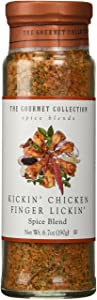 The Gourmet Collection Seasoning Blends Kickin' Chicken Finger Lickin' Spice Blend-Cooking Seasoning for Fried, Roasted, Broiled, Rotisserie Chicken.
