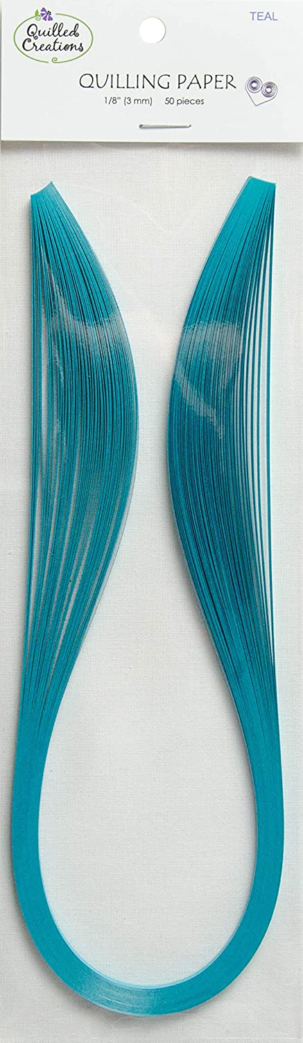 Quilled Creations 1286 Quilling Paper, Teal
