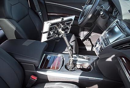 Mount-It! MI-7321 Carbon Fiber Car Cup Holder Tablet Mount
