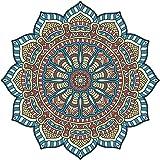 Vinilo Decorativo para Pared, diseño de Mandala Victoriana Floral ...