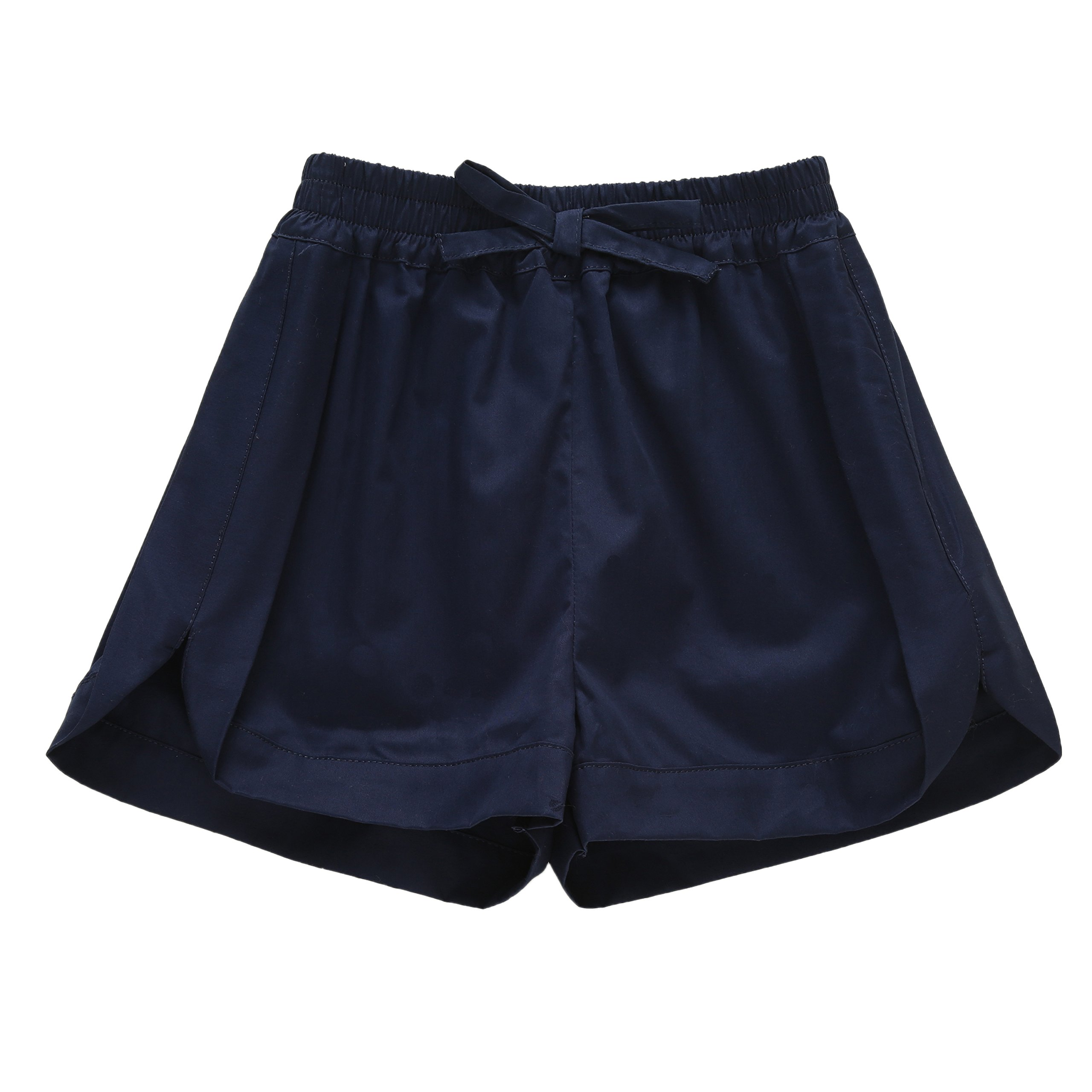 Richie House Big Girls' Summer Short Pants with Bow RH2288-A-12