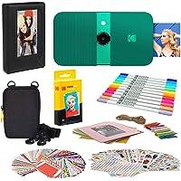 KODAK Smile Instant Print Digitale Camera (Groen) Fotolijsten Bundel met Soft Case