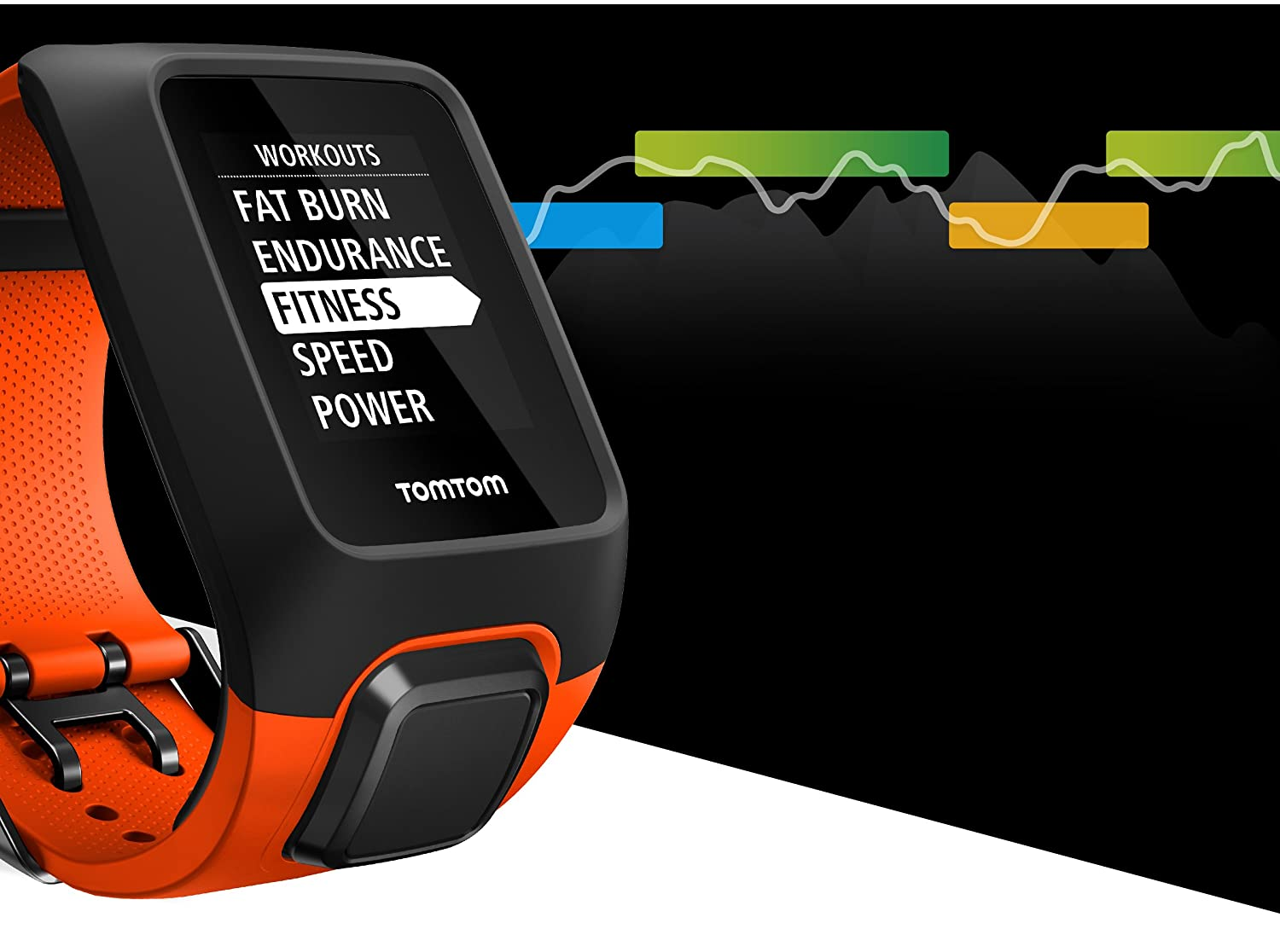 TomTom ADVENTURER - Montre GPS Multisports + Cardio + Music - Orange: Amazon.fr: GPS & Auto