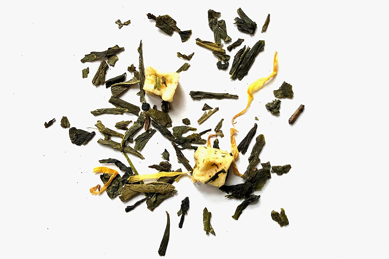 Beantown Tea & Spices - Apricot Green Tea. Gourmet Loose Leaf Green Tea. 100% Natural. (4 oz. (50 Servings))